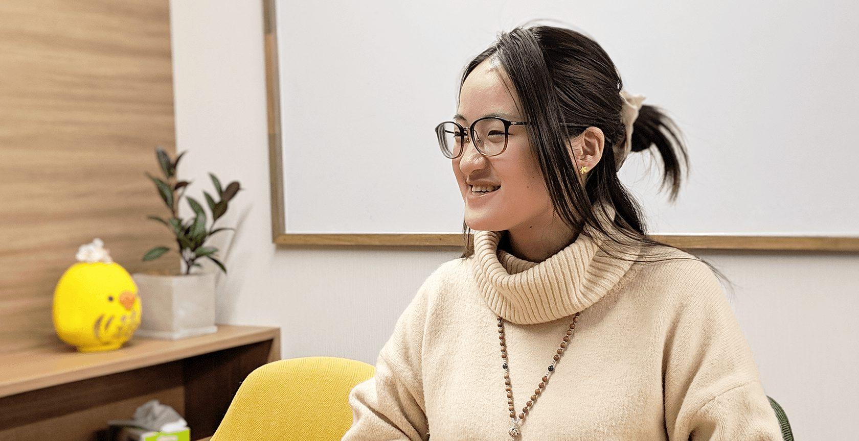 【社員インタビュー】企画職インターン 金陽さん